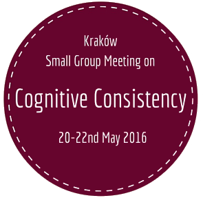 Small Group Meeting on Cognitive Consistency – announcement #1