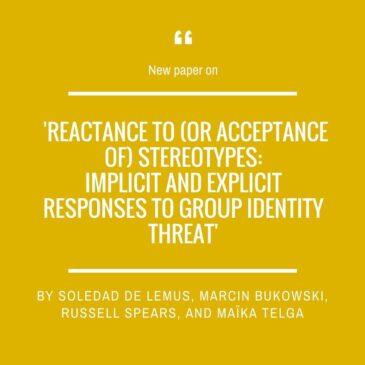 A new paper by Soledad de Lemus and Marcin Bukowski!