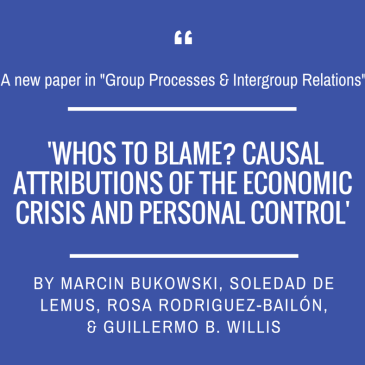 Marcin Bukowski's team in 'Group Processes & Intergroup Relations'