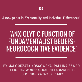 Another paper of our lab group in 'Personality and Individual Differences'!