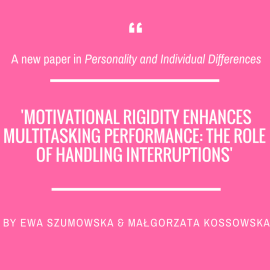 Ewa Szumowska and Małgorzata Kossowska in 'Personality and Individual Differences'