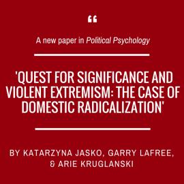 Katarzyna Jaśko and collaborants on radicalization