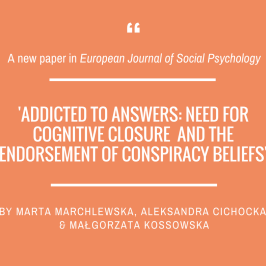 A new paper in European Journal of Social Psychology!