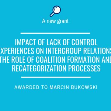 New grant awarded to Marcin Bukowski!