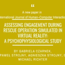 A new paper by Gabriela Czarnek in International Journal of Human–Computer Interaction!