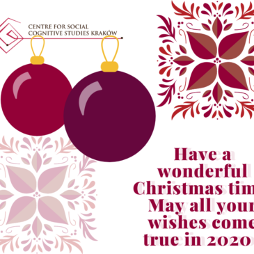 Best Christmas wishes for our friends!