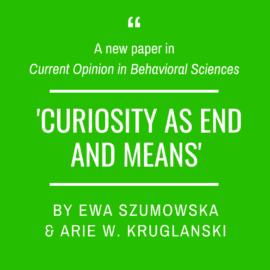 A new article by Ewa Szumowska and Arie W. Kruglanski!