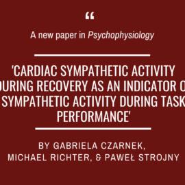A new paper by Gabriela Czarnek and colleagues!