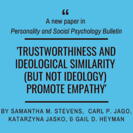 New paper in Personality and Social Psychology Bulletin!